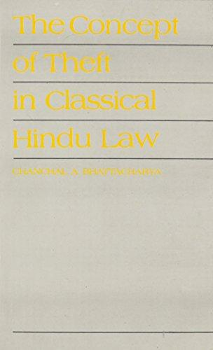 The Concept Of Theft In Classical Hindu Law