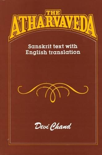 The Atharvaveda  ( Sanskrit Text With English Translation )