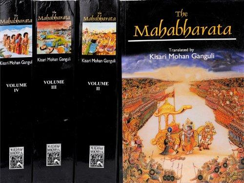 The Mahabharata Of Krishna-Dwaipayana Vyasa: Translated into English Prose from the Original Sanskrit Text, 4 Vols