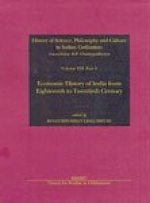 Economic History of India From  Eighteenth To Century Vol. VIII part 3
